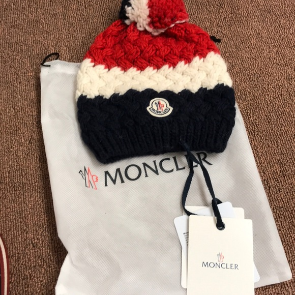 f46387469 Moncler men's winter wool hat